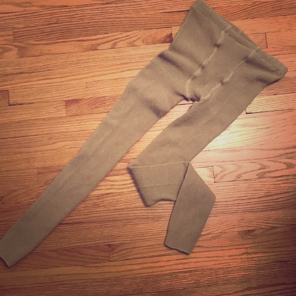f5161b5790508 Accessories | Nwot Gold Sparkly Footless Tights | Poshmark